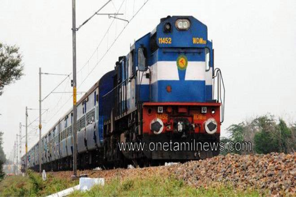 Special fare special trains between Nagercoil – Velankanni (via. Madurai)