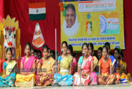 INDEPENDENCE DAY  CELEBRATION AMRITA VIDYALAYAM CBSE SCHOOL,TIRUPUR